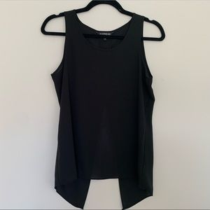 EXPRESS Silky Top with Split Back
